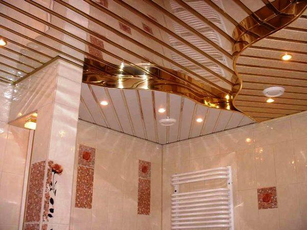 реечные потолки для ванной, Франция