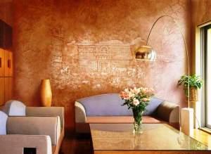 венецианка идеальна для гостиной