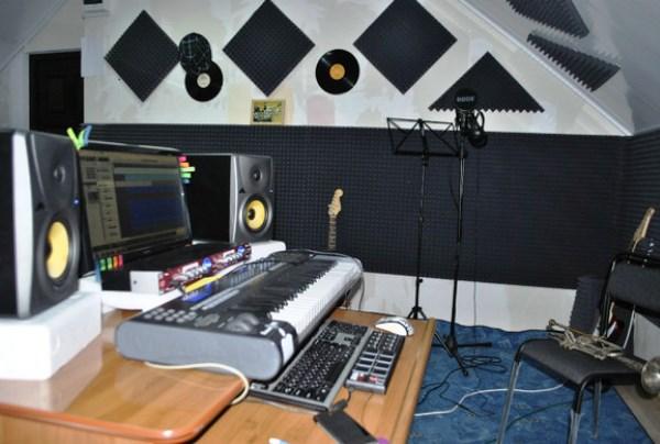 акустический поролон для студии звукозаписи