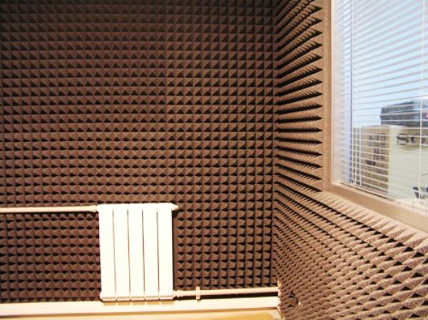 акустический поролон в офисе
