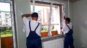 установка пластиковых окон по госту