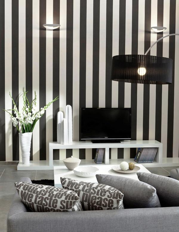 черно-белые обои для стен фото