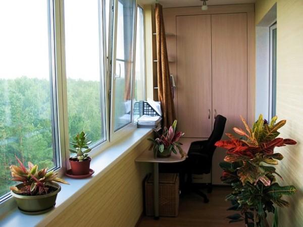 отделка балкона своими руками фото