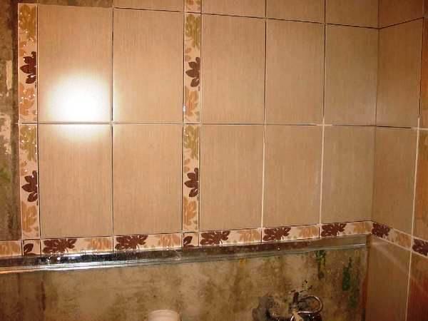 как положить плитку в ванной фото