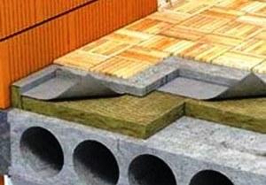гидроизоляция перекрытия между этажами