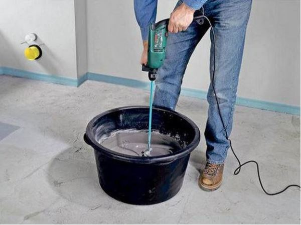 цементная смесь для стяжки пола